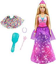 Кукла Барби Принцесса в русалочку перевоплощение Barbie Dreamtopia 2-in-1 Princess to Mermaid