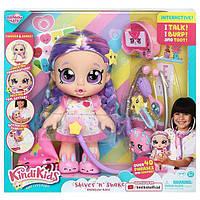 Интерактивный набор с куклой kindi kids shiver ´n shake rainbow