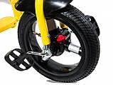 Велосипед Детский Трехколесный велосипед LambaRgini 2 обновленный черный, фото 2