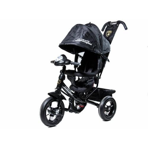 Велосипед Детский Трехколесный велосипед LambaRgini 2 обновленный черный