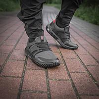 M-Tac кроссовки лето Trainer Pro Vent Black/Grey темно-серые