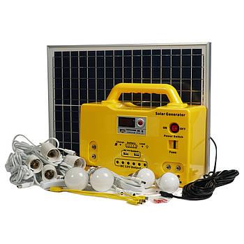 Портативная солнечная батарея со встроенным аккумулятором SHS-2012