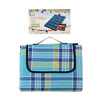 Водонепроницаемый коврик для пикника кемпинга и пляжа 140 х 200 см
