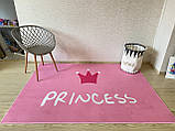 "Безкоштовна доставка! Килим в дитячу ""Принцеса"" (150 *200 см), фото 2"