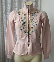 Кофта женская модная хлопок стрейч бренд 10 Feet р.44 4730, фото 1