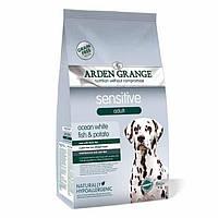 Arden Grange Sensitive ocean white fish/potato Корм сухой для собак с деликатным желудком 2 кг