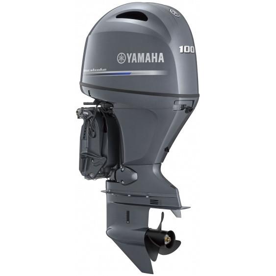 Двигун для човна Yamaha F100FETX- підвісний двигун для яхт і рибальських човнів