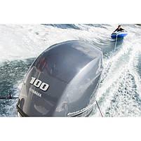 Двигун для човна Yamaha F100FETX- підвісний двигун для яхт і рибальських човнів, фото 2