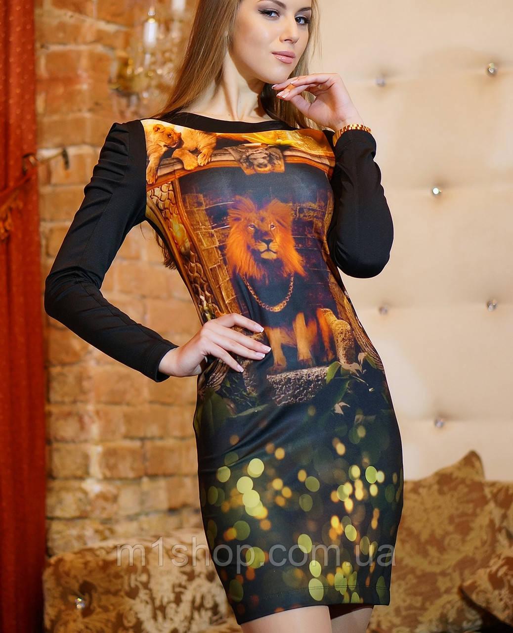 Стрейчевое платье   Леонарда  lzn