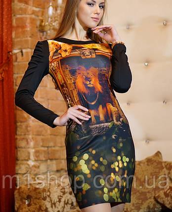 Стрейчевое платье   Леонарда  lzn, фото 2