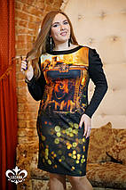 Стрейчевое платье   Леонарда  lzn, фото 3