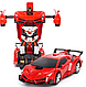 Машинка Трансформер Lamborghini Robot, Радиоуправляемая машинка-трансформер маленькая Transforms Lamborghini, фото 2