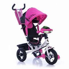 Велосипед Трехколесный детский обновленый Lambo розовый