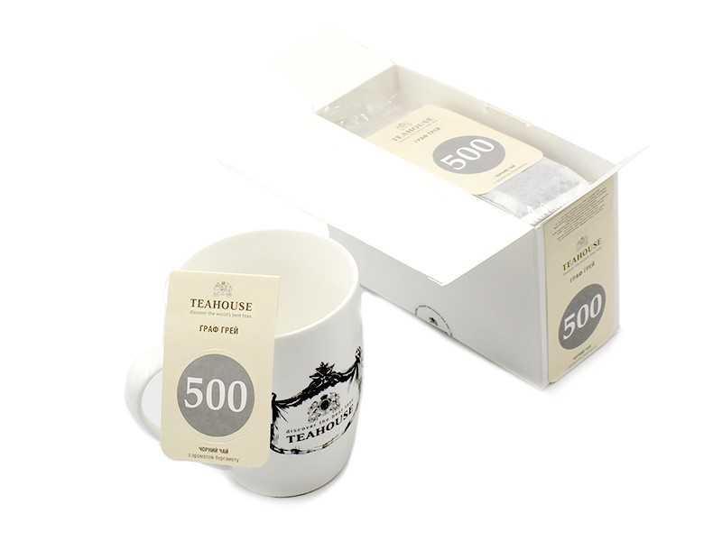 Чай Teahouse (Тіахаус) Граф Грей пакетований 20*3г (Tea Teahouse Earl Gray packed 20*3г)
