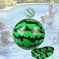 Детский надувной мяч АРБУЗ 18 см для воды бассейна пляжа А5260