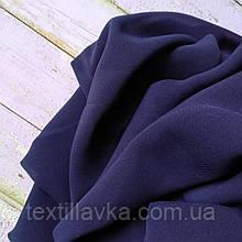 Ткань шифон Винди темно-синий