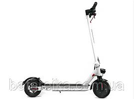 """Складний двоколісний електросамокат для дорослих та дітей Crosser E9 Premium Білий 7.8Ah/500W Air 10"""" Inch"""