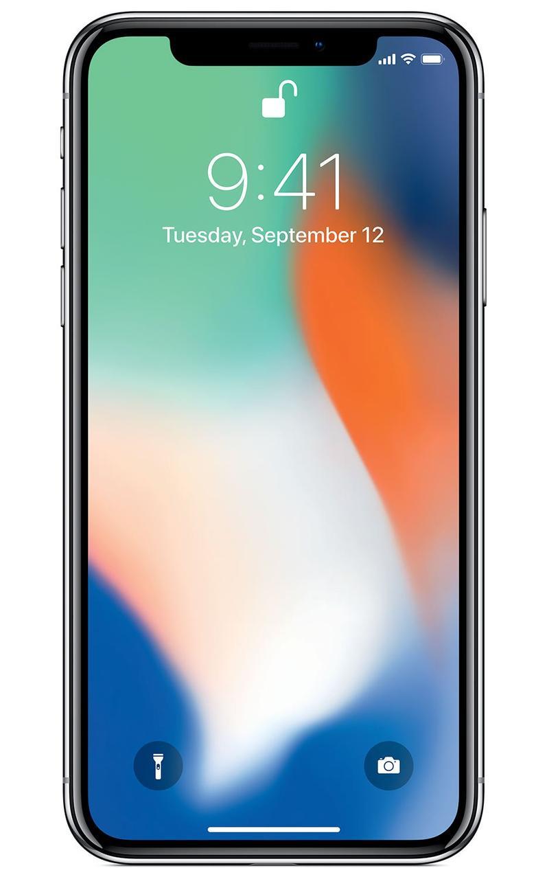 Apple iPhone X 256GB Silver. NEW!!!