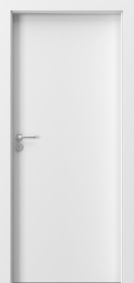 Porta Minimax глухе біле дверне полотно міжкімнатної двері в білому кольорі Польща
