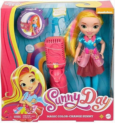 Большая кукла с плойкой sunny day magic color-change