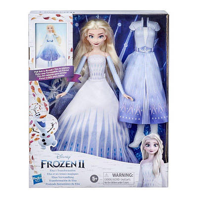 Кукла холодное сердце 2 королевский наряд эльза disney frozen hasbro