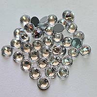 Термо стразы Премиум ss34 Crystal (7,2mm) 140шт (гладкий клей)