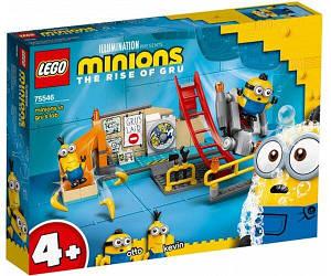 Lego Minions Міньйони в лабораторії Грю 75546