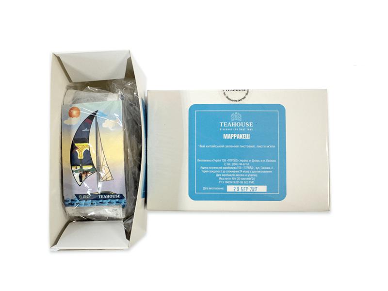 Чай Teahouse (Тіахаус) Марракеш пакетований 20*3г (Tea Teahouse Marrakesh packed 20*3г)