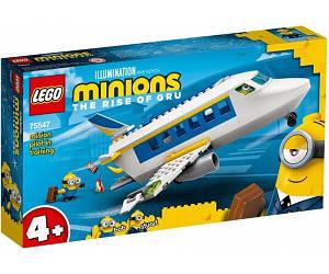 Lego Minions Міньйони тренувальний політ 75547