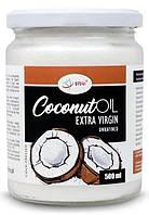 Органическое кокосовое масло нерафинированое, холодный отжим Iherb Coconut Extra Virgin 500ml