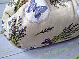 Текстильна сумочка з бронзовим фермуаром Прованс, фото 3
