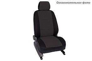 Чехлы салона Тойота RAV 4 2012- Жаккард /темно-серый