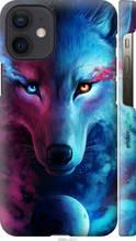 """Чехол на Apple iPhone 12 Mini Арт-волк """"3999c-2071-2448"""""""