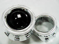 """Комплект биксеноновых линз Morimoto mini G-5 (лампа Н1) с """"ангельскими глазками"""""""
