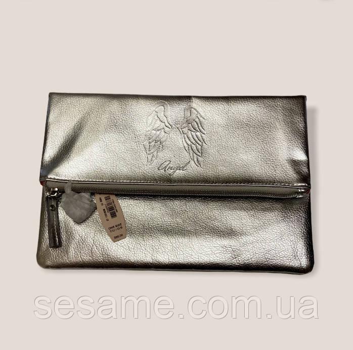 Клатч victoria's secret angel срібного кольору ангел
