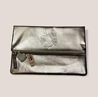 Клатч victoria's secret angel срібного кольору ангел, фото 1