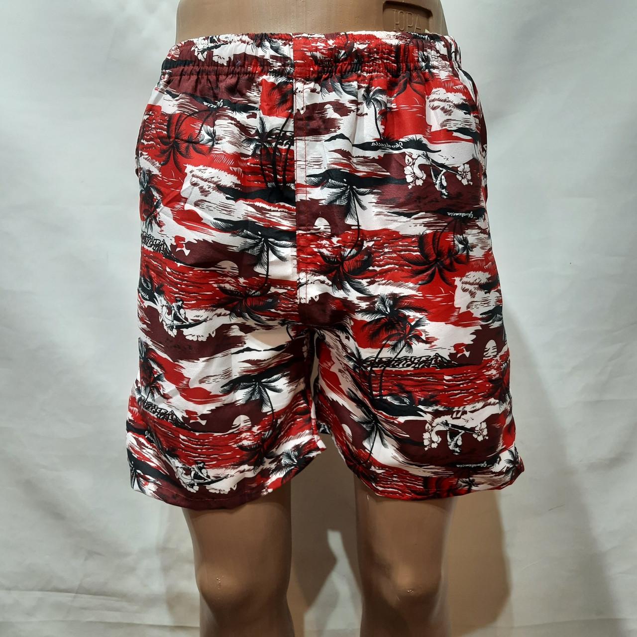 Чоловічі літні пляжні шорти з сіткою