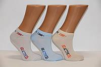 Підліткові короткі шкарпетки з бавовни в сіточку Стиль Люкс НЛ 18-20 900