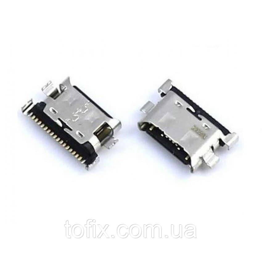Коннектор зарядки для Samsung A205 Galaxy A20, A305 Galaxy A30, A405 Galaxy A40, A505 Galaxy A50, USB тип-C