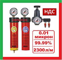 Italco AC6002. 2 ступени Блок подготовки сжатого воздуха, профессиональный, система, для покраски, компрессора