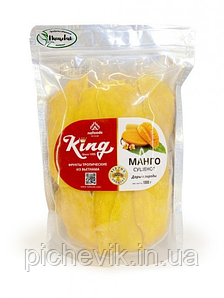 Манго  без сахара натуральный  Вес: 500 грамм