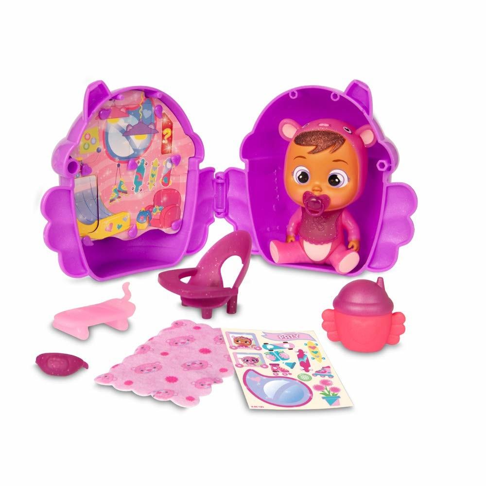 Лялька пупс сюрприз cry babies magic з будиночком tears winged house