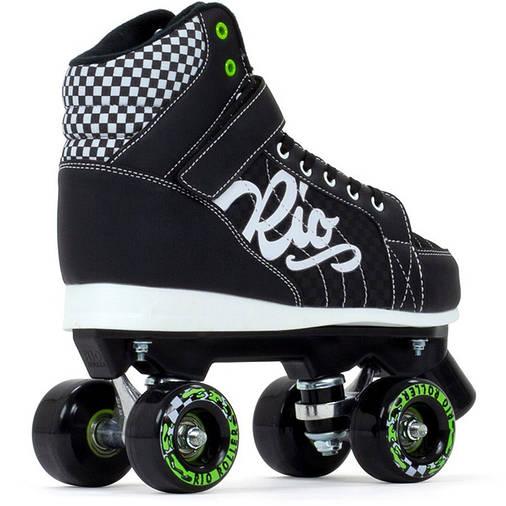 Взрослые роликовые коньки Rio Roller Mayhem II 40.5 black, фото 2