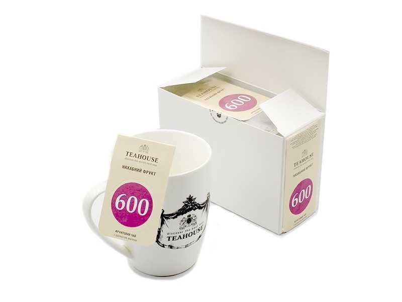 Чай Teahouse (Тиахаус) Наглый фрукт пакетированный 20*3г (Tea Teahouse Cheeky fruit packed 20*3г)