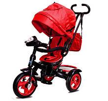 Велосипед Трехколесный детский Neo 4 Air с фарой красный