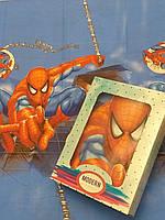 Постельный комплект Человек-паук полуторный бязь Gold Lux
