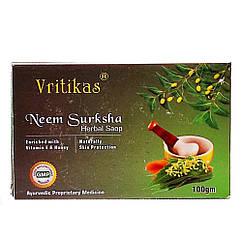 Мыло Ним (Neem Surksha, Vritikas), 100 грамм