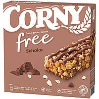 Батончики Corny Schoko Free 7s 140 g