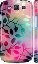"Чехол на Samsung Galaxy S3 Duos I9300i Листья ""2235c-50-2448"""
