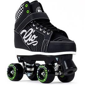 Взрослые роликовые коньки Rio Roller Mayhem II 43 black